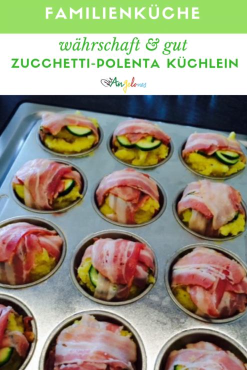 Zucchetti Polenta Küchlein