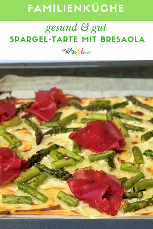 Spargel Tarte Bresaola