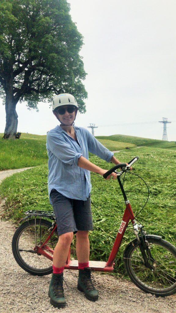 Abenteuer Trottinett Braunwald