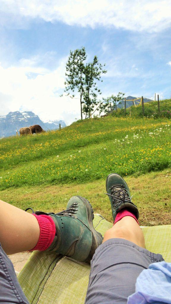 Wanderung Nussbüel Braunwald
