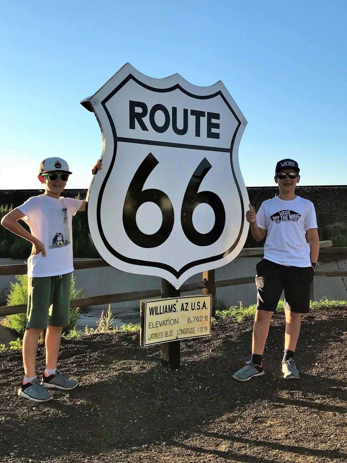 Route 66 mit Kindern - Familienreise durch die USA