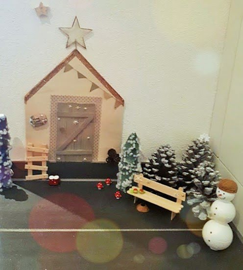 Wichtel Advent Weihnacht Türe