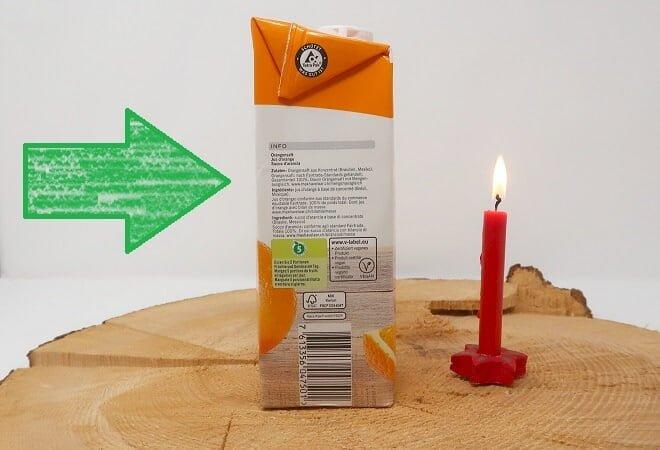 Kerzen Experiment