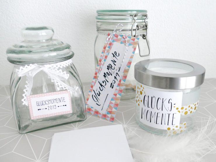 Glücksmomente Familie Glas sammeln