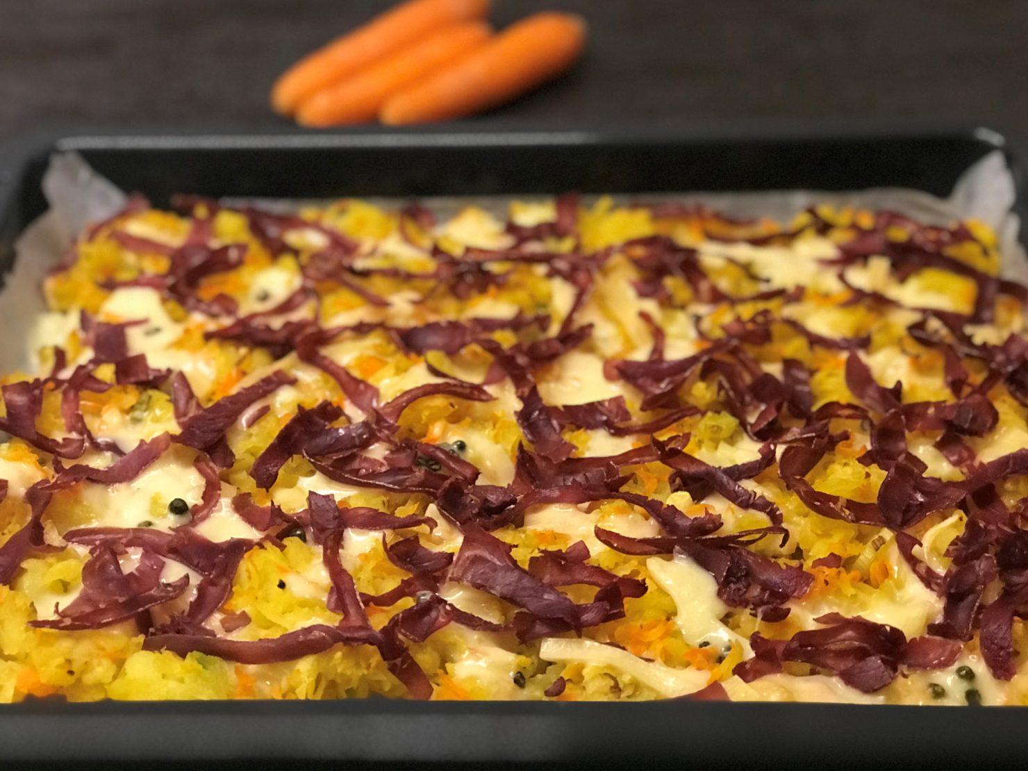 Ofenrösti mit Bündnerfleisch: Schweizer Klassiker auf dem Familientisch