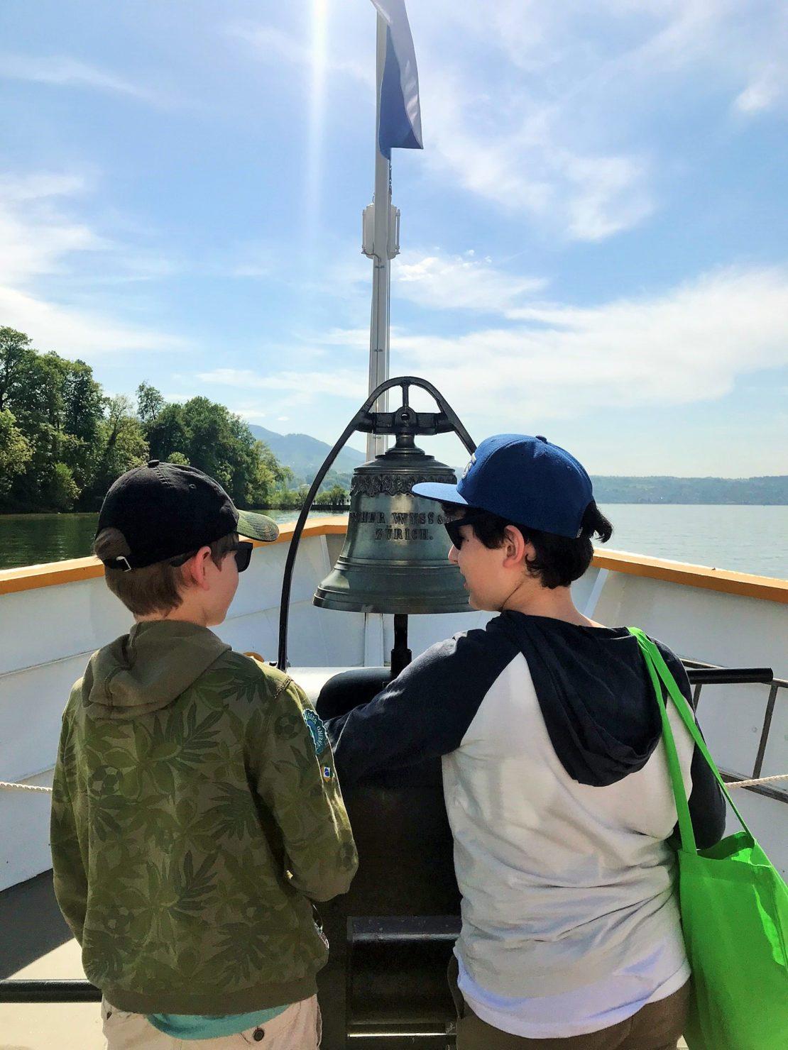 Schifffahrt auf dem Zürichsee: Von Rapperswil über die Insel Ufenau nach Zürich