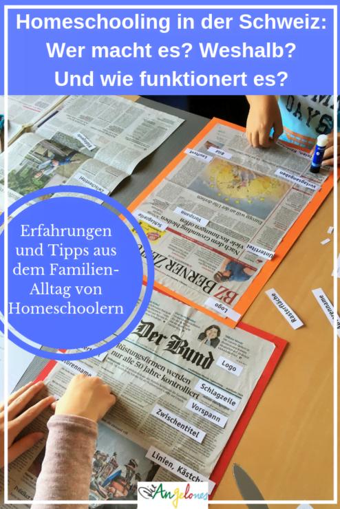 Homeschooling in der Schweiz - ein Erfahrungsbericht einer Familie die ihre Kinder zu Hause unterrichtet