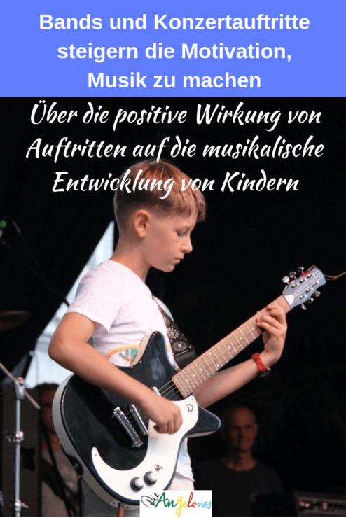 Die positive Wirkung von Auftritten auf die musikalische Entwicklung von Kindern