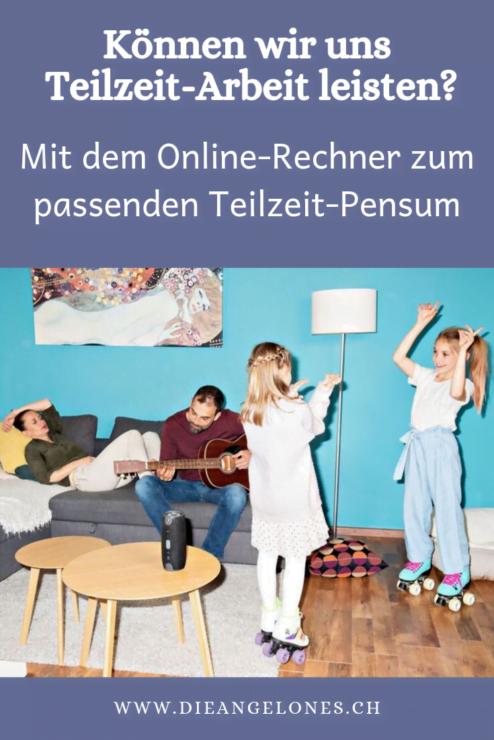 Obwohl die ganz grosse Mehrheit der Schweizer Eltern - gemäss einer Studie von Swiss Life - gerne Teilzeit arbeiten möchte, hat derzeit nur in rund zwei von drei Haushalten mit Kindern ein Elternteil ein reduziertes Arbeitspensum. Der Hauptgrund für die Diskrepanz zwischen Wunsch und Realität ist die Angst vor finanziellen Einbussen. Ein neuer Online-Rechner hilft Eltern beim Entscheid, ob bzw. welches Teilzeitmodell für die Familie in Frage kommt.