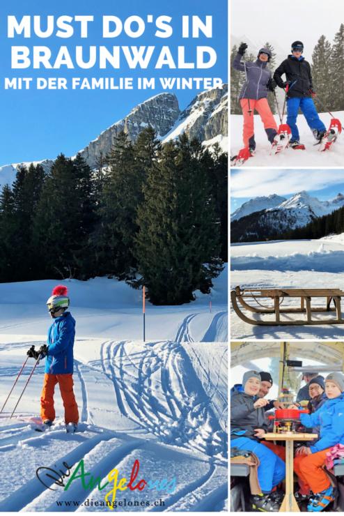 Der Winter-Sportort Braunwald im Glarnerland ist ein wahres Familien-Skiparadies. Der Ort auf der Sonnenterasse in den Glarner Alpen gilt als ausgezeichnete Familiendestination. Wir haben die besten Winter-Aktivitäten zusammengefasst, die man als Familie mit Kindern in Braunwald unternehmen kann: Skifahren, Schlitteln, Winterwandern, Schneeschuhtouren, Kutschenfahrten oder Baden - für jedes Familienmitglied ist etwas Passendes dabei.