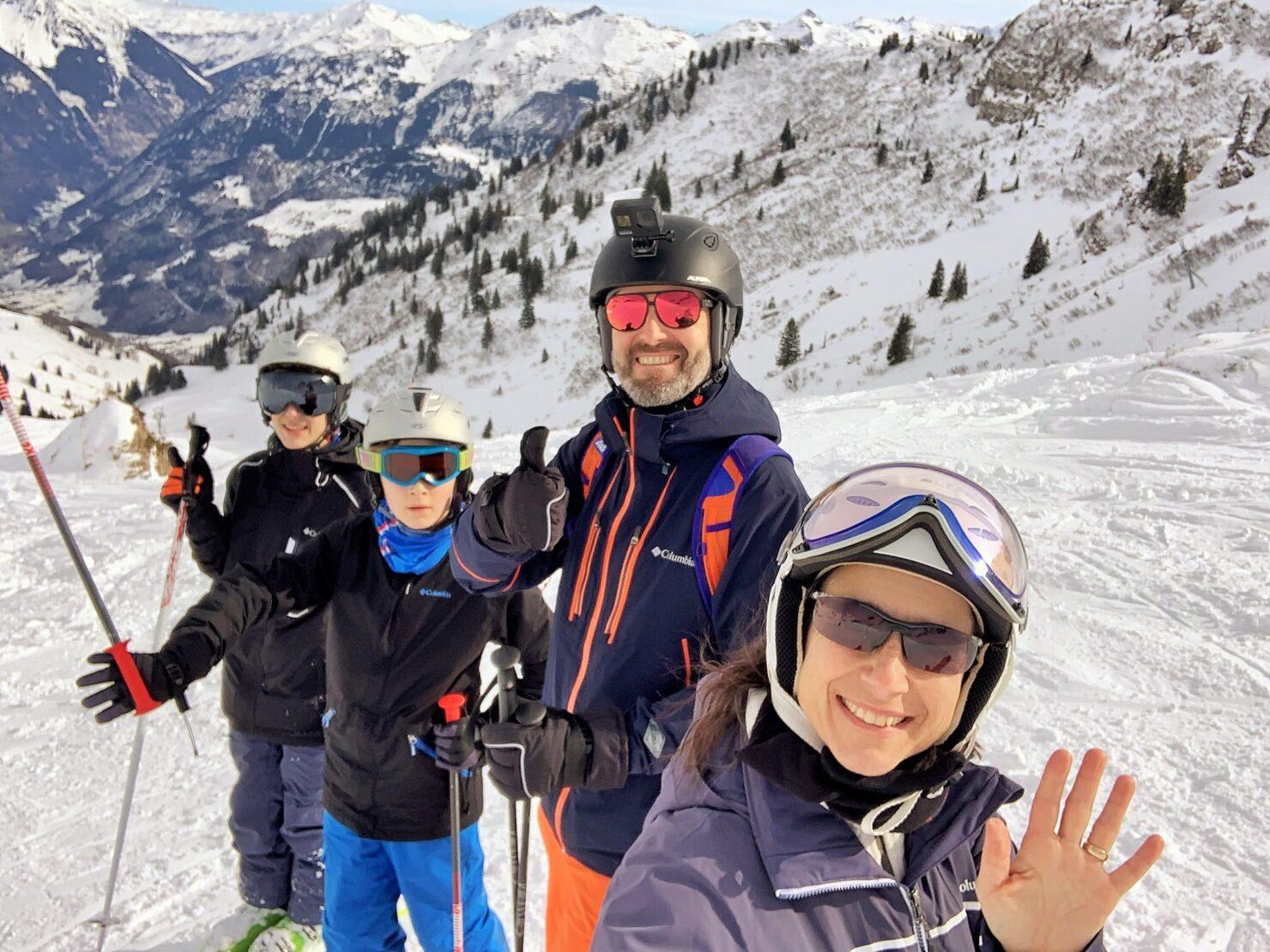 Als Heimwehglarner verbringen wir jedes Jahr unsere Skiferien in Braunwald