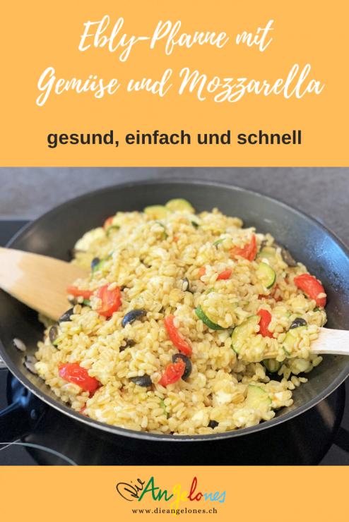 """Ebly sind zarte Weizenkörner, die in nur zehn Minuten in Wasser oder Bouillon zubereitet werden können. Deshalb ist Ebly in der Familienküche sehr beliebt. Auch Kinder lieben diesen etwas anderen """"Reis"""" - sogar mit viel Gemüse!"""