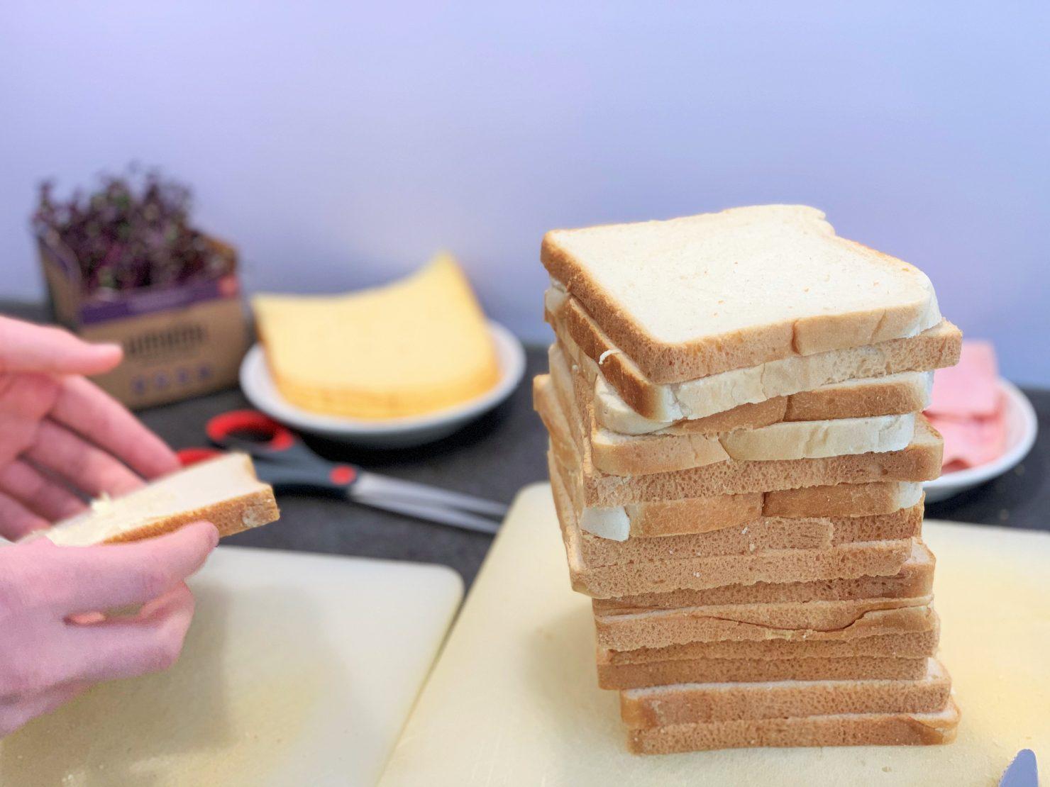 Schinken-Käse-Toast vom Grill