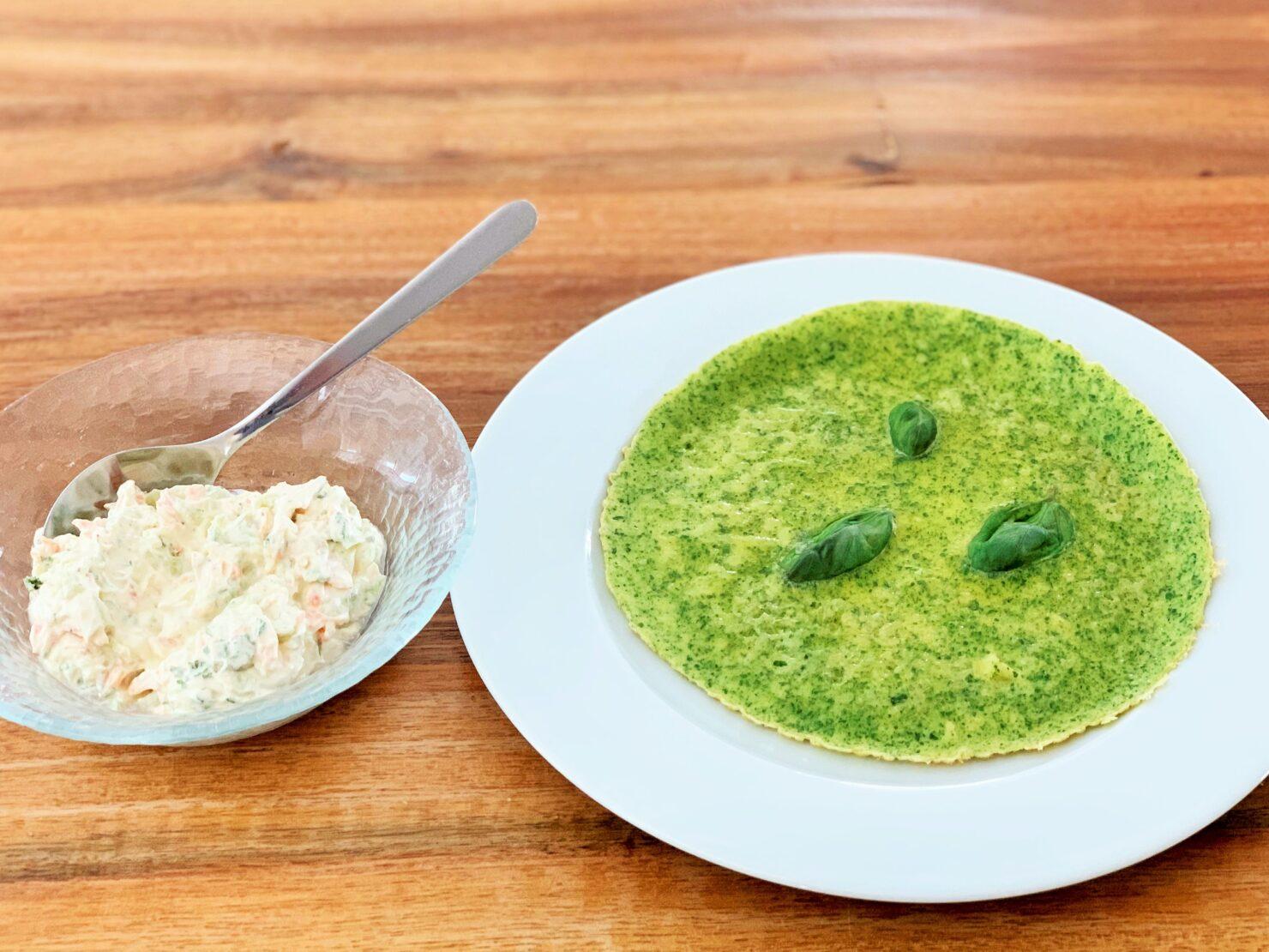 Spinat-Omeletten - grüner Familienhit