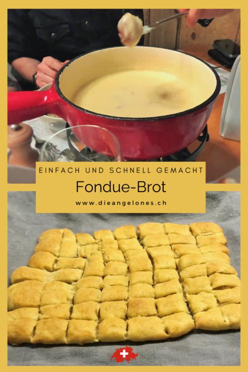 Zu einem feinen Käse-Fondue gehört ein knuspriges Fondue-Brot dazu. Am besten gleich selber gemacht!