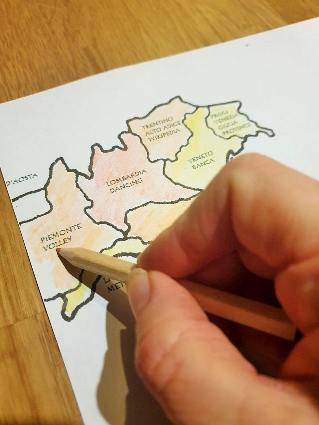 Corona Ampelsystem in Italien: Alle Regionen haben eine andere Farbe