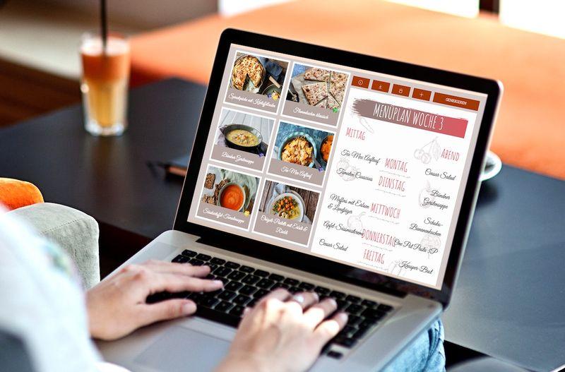 Online Menüplanung - einfach und schnell