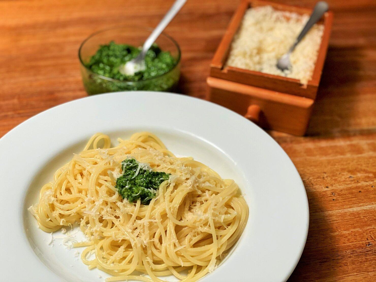 Pesto mit Petersilie