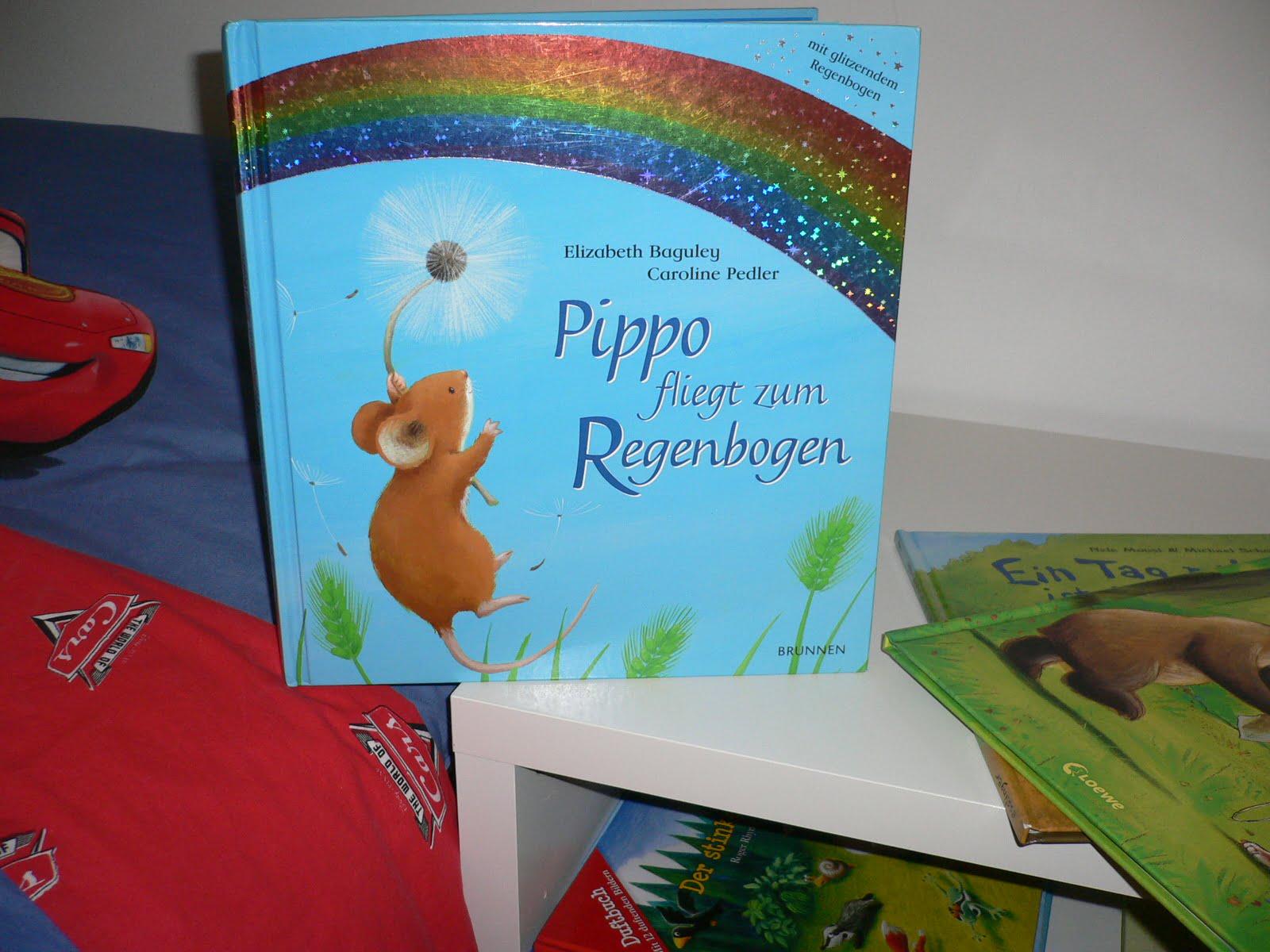 Pippo fliegt zum Regenbogen