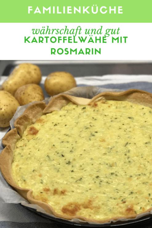 Kartoffelwähe mit Rosmarin