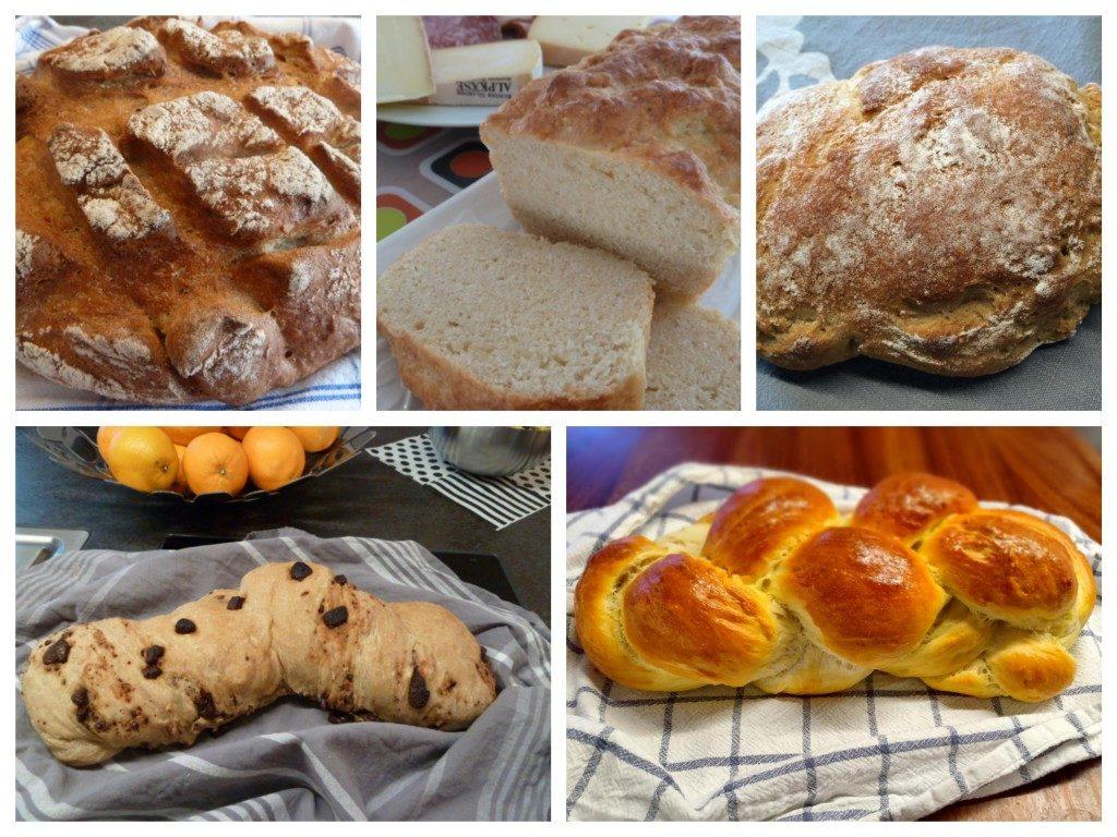 Schweizer Brote selber backen