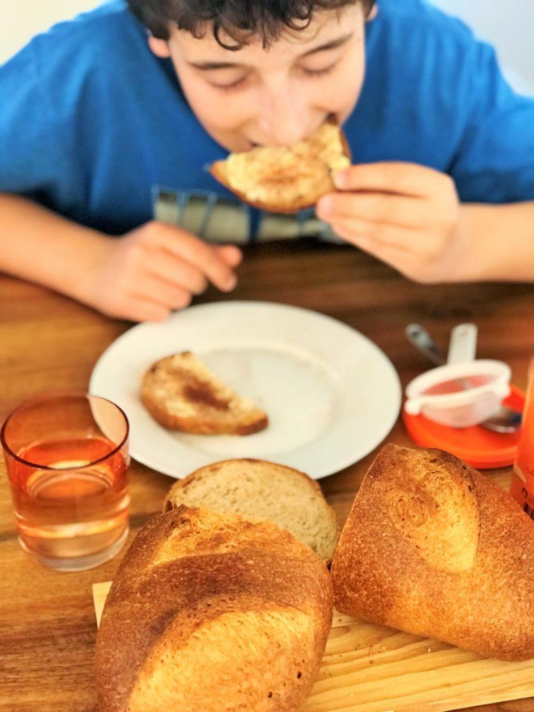 Brot mit Ovomaltine