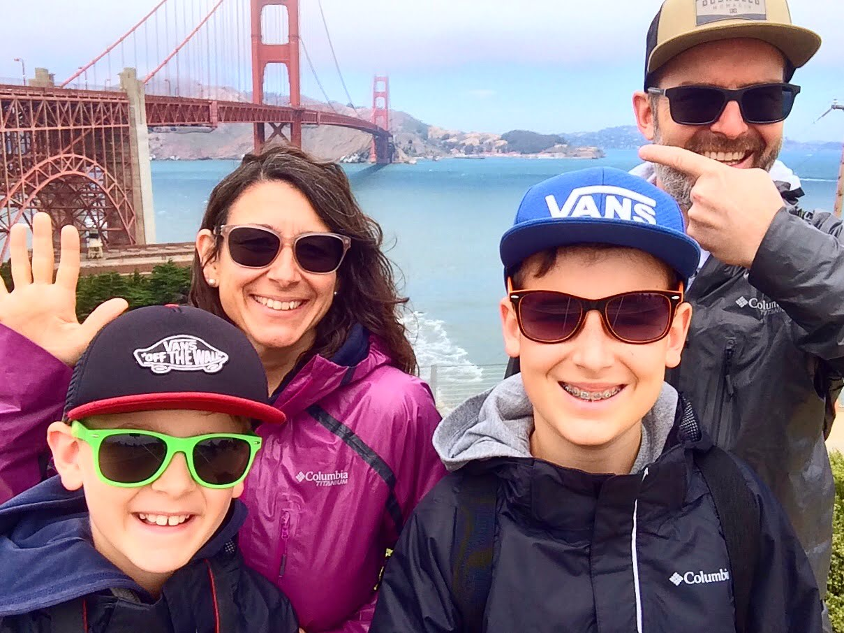 San Francisco mit Kindern - Familienreise durch die USA
