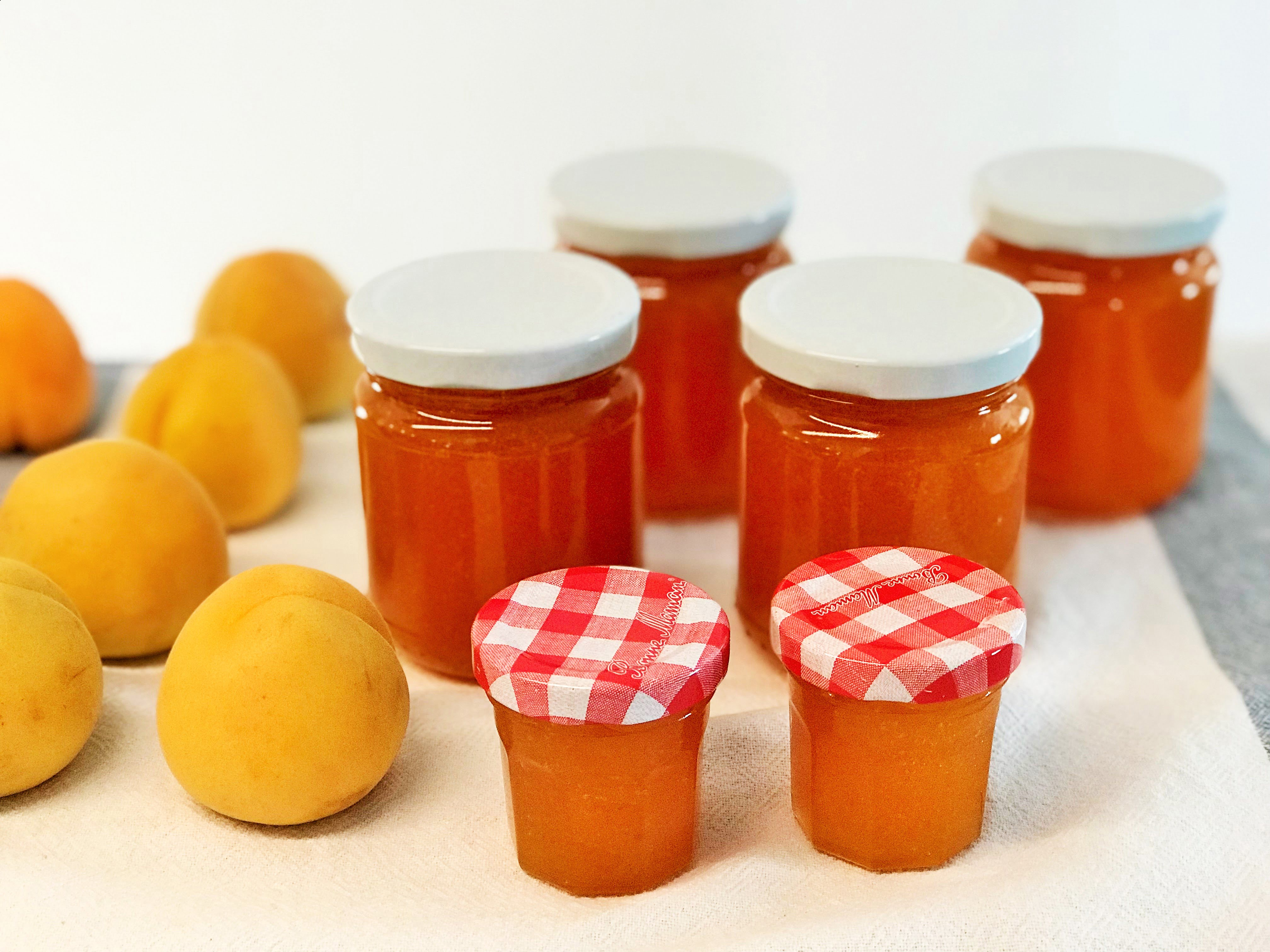 Aprikosen Konfitüre selber machen