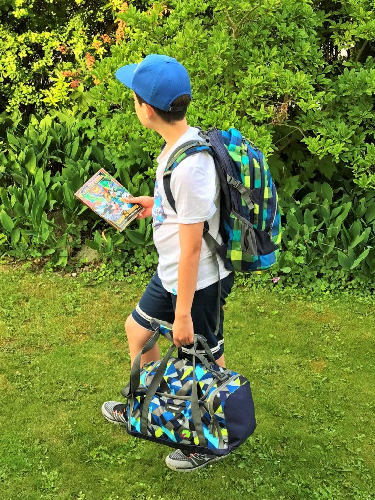 Kinder sichtbar und sicher unterwegs auf dem Schulweg