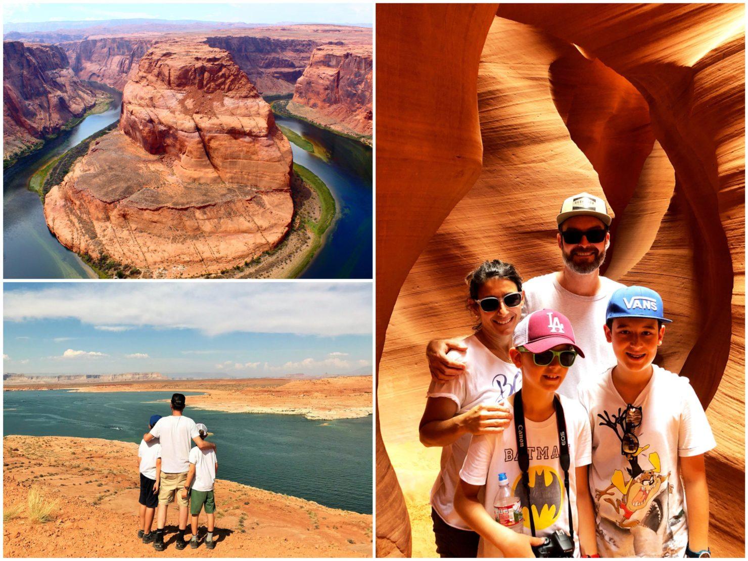Antelope Canyon mit Kindern - Familienreise durch die USA