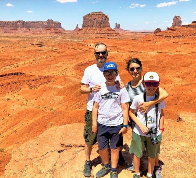 Monument Valley mit Kindern - Familienreise durch die USA