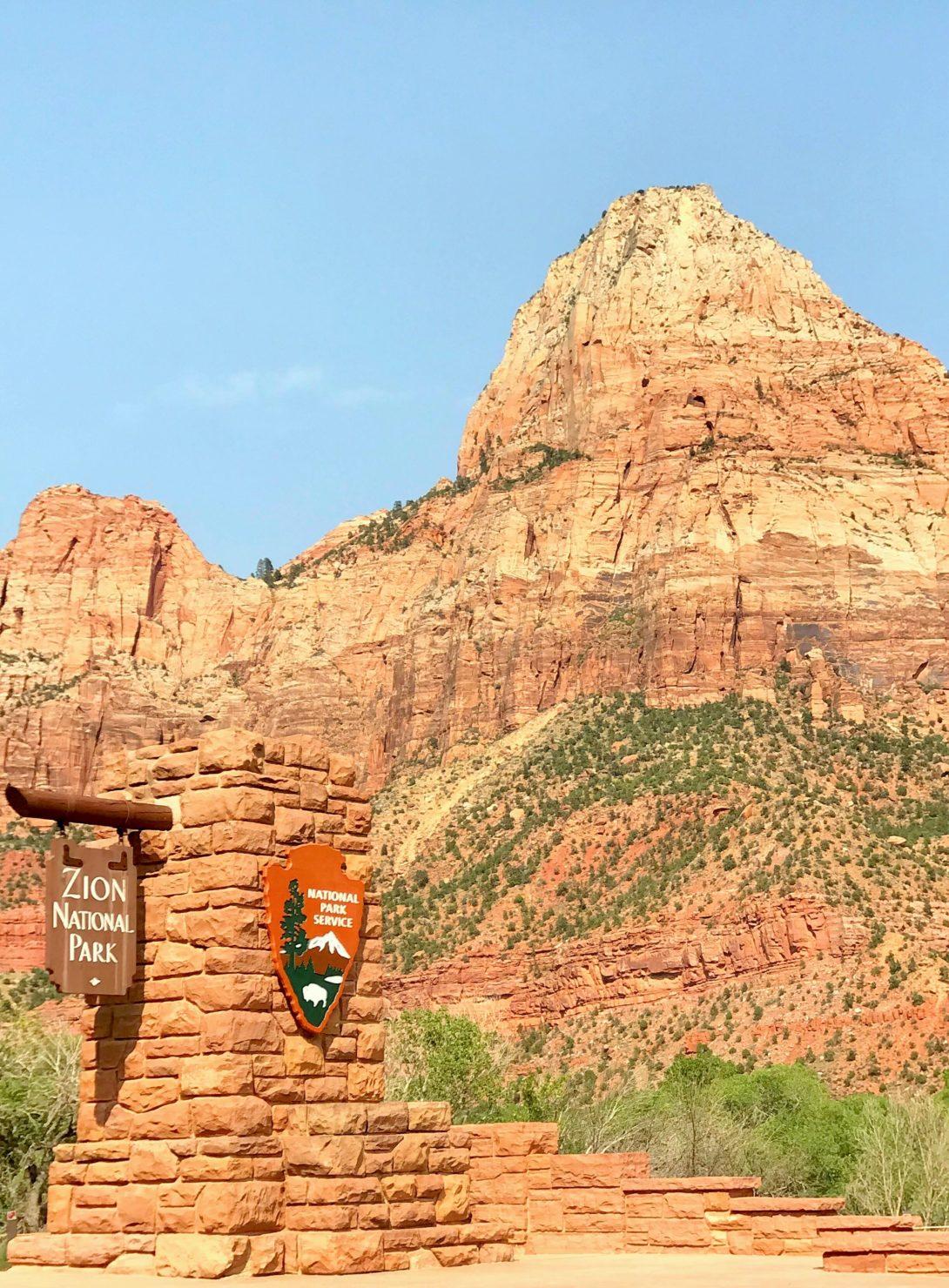 Zion National Park mit Kindern - Familienreise durch die USA