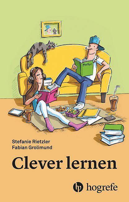 """Ein leichteres Schülerleben durch cleveres Lernen? Ja, das geht! Die entsprechenden Tipps und Tricks finden Kinder im tollen Buch """"Clever lernen""""!"""