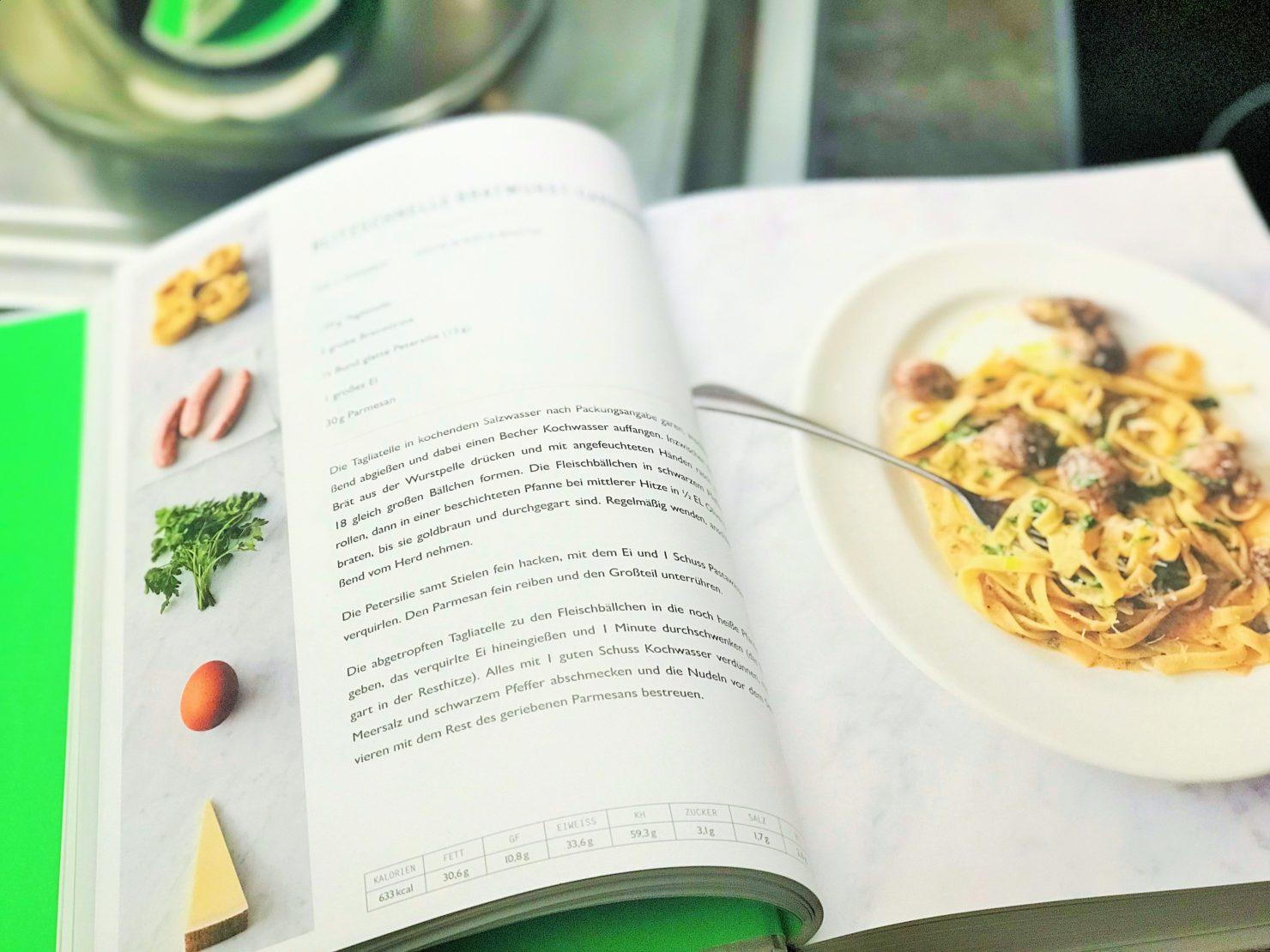 Jamie Olivers 5 Zutaten Küche Bratwurst Carbonara