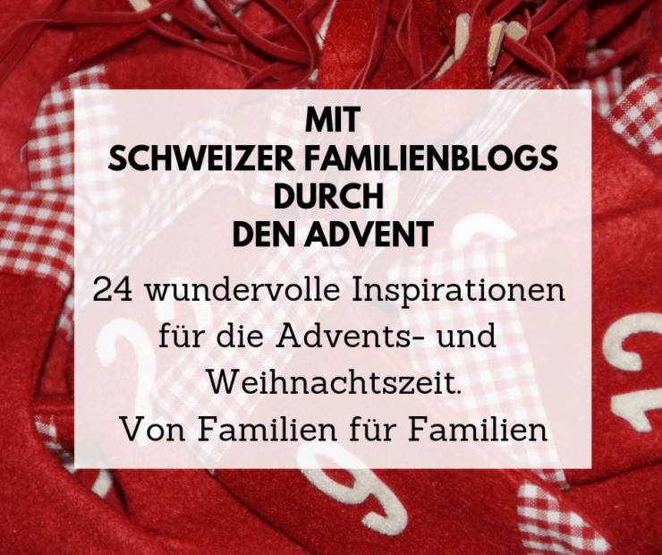 Adventskalender Familien Blogs Inspiration Advent Weihnacht