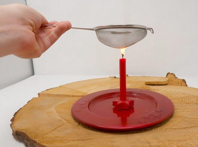 Kerzen Experimente