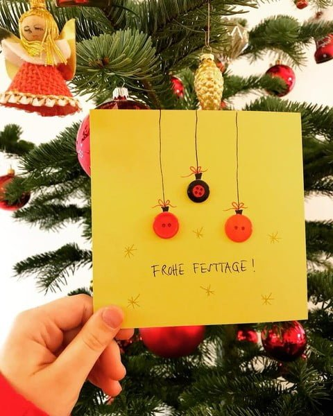 Adventskalender Schweizer Familienblogs: Schöne Weihnachtskarten ...
