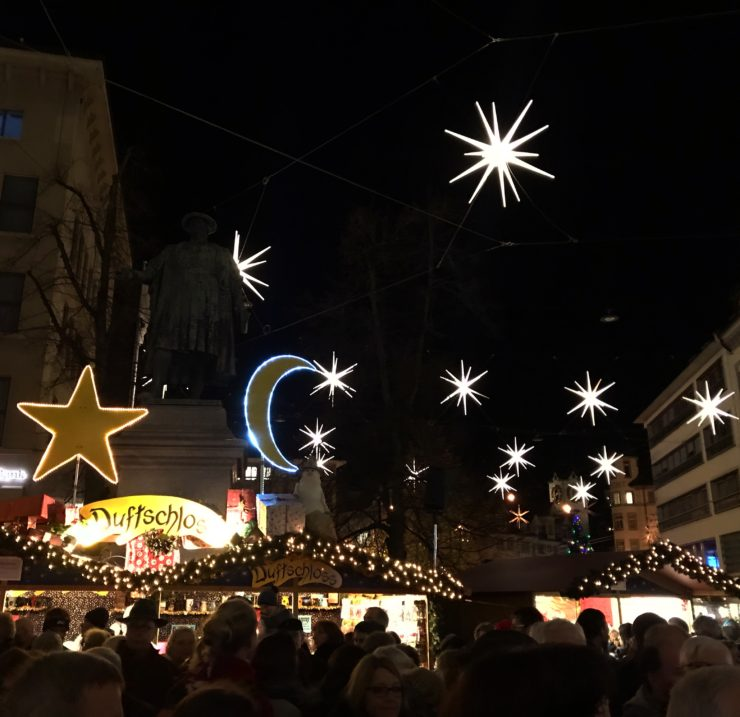Sternenstadt St. Gallen Advent Weihnacht
