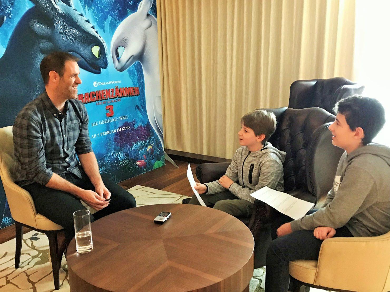 Interview mit Simon Otto - Drachenzähmen leicht gemacht