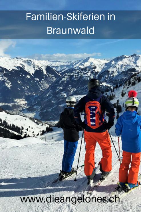 Familien-Skiferien im autofreien Braunwald