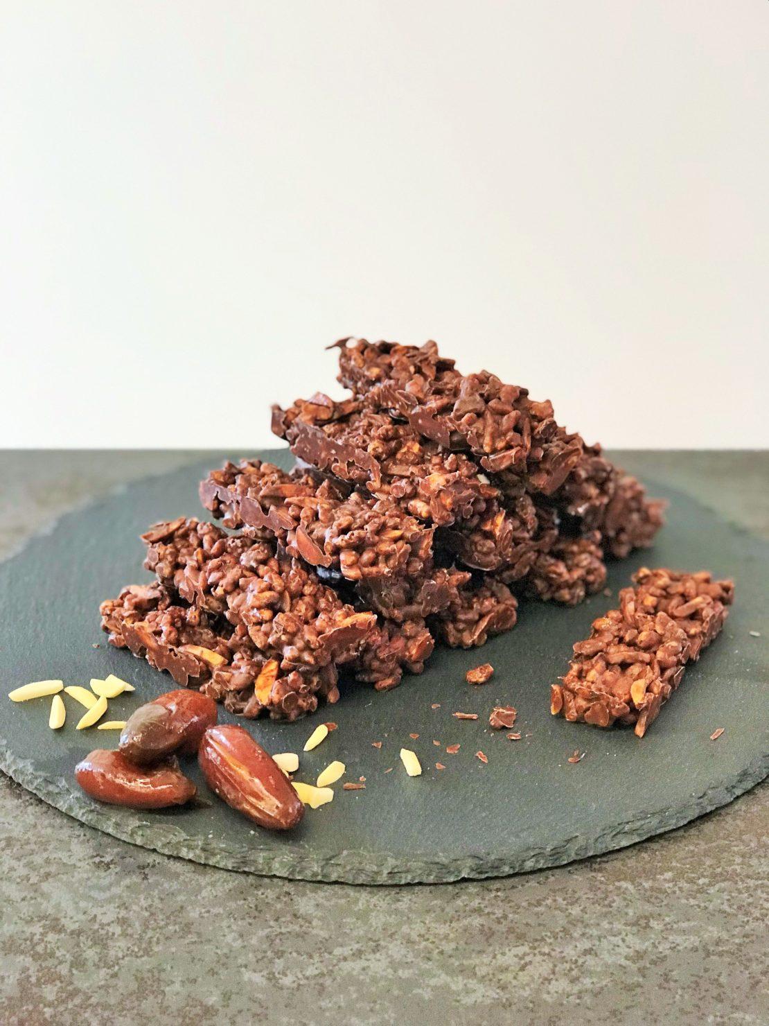 Schokoladen Energie Riegel - gesund und gut