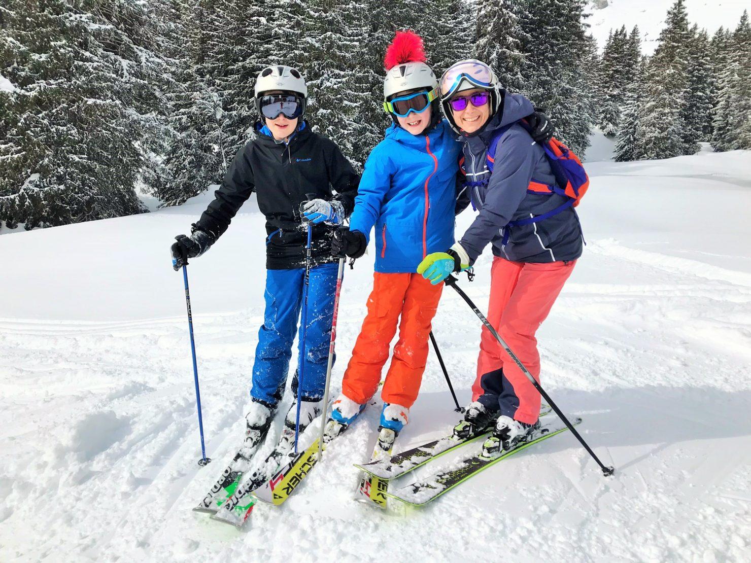 Familien Skiferien in Braunwald