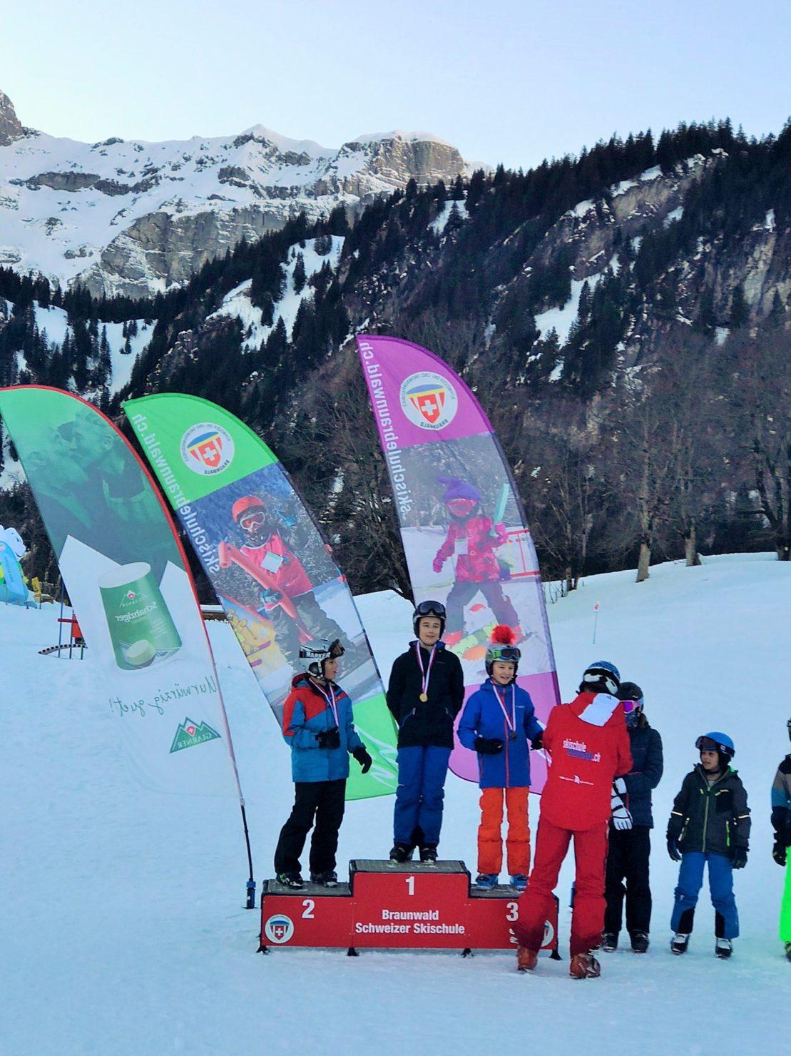 Familien Skiferien Braunwald Skischule