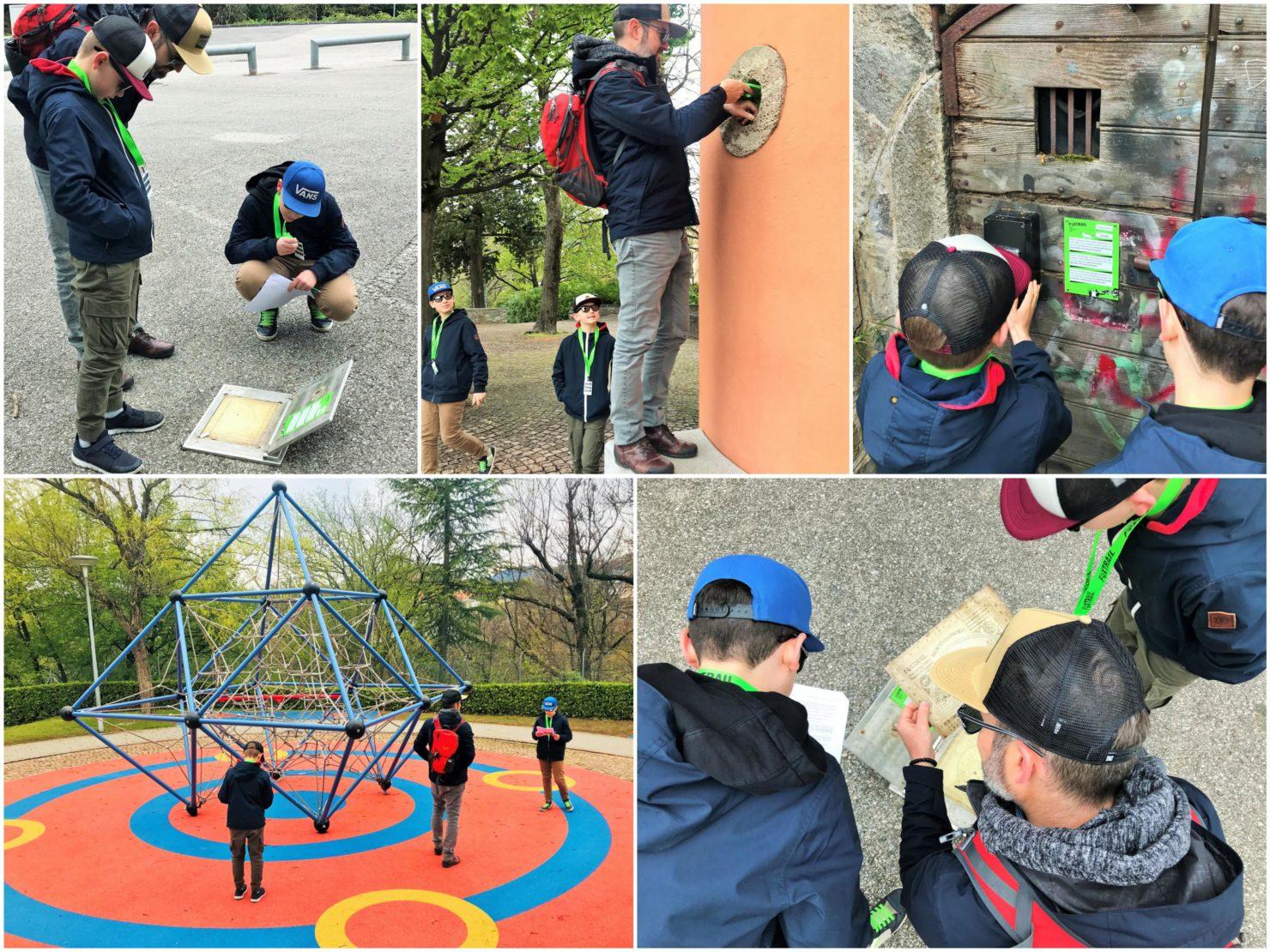 Familienferien im Tessin Foxtrail in Lugano