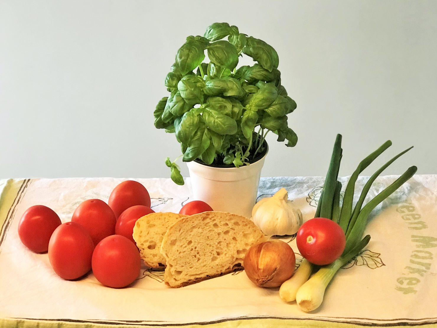Panzanella Italienischer Brotsalat