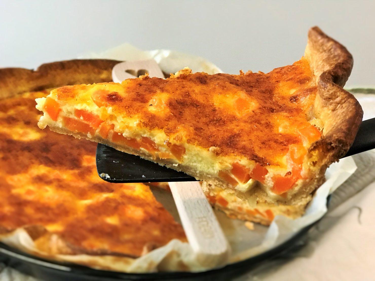 Rüebli Karotten Käse Wähe Quiche