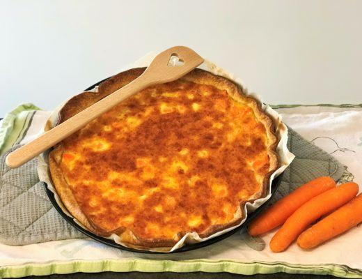 Karotten Rüebli Käse Wähe Quiche