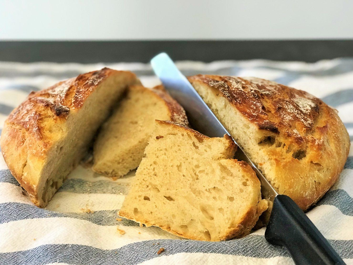 No Knead Bread: Topfbrot ohne zu Kneten
