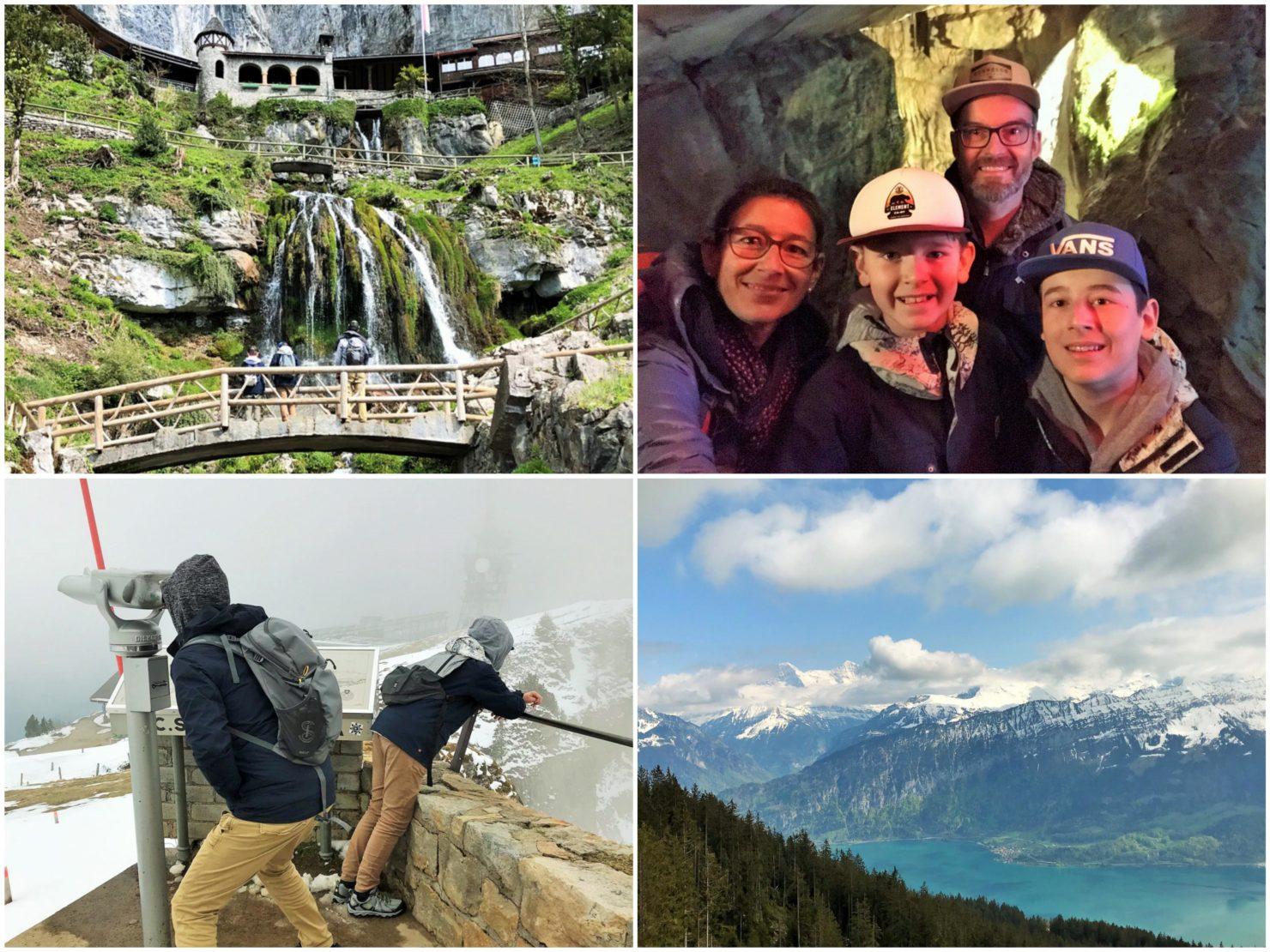 TCS Camping Thun Glamping in den Swiss Tubes und Besuch der Beatus-Höhlen