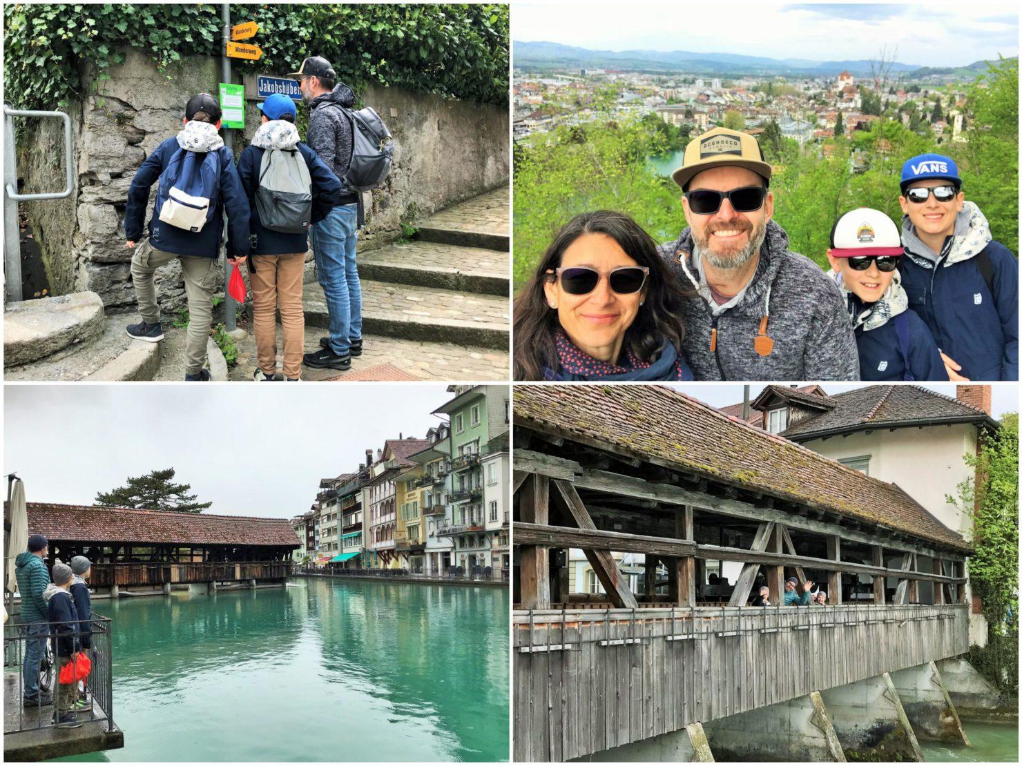 TCS Camping Thun Glamping in den Swiss Tubes und Besuch der Stadt Thun